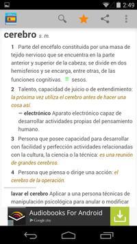Diccionario de español poster