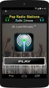 Pop Music Free - Pop Radio Stations screenshot 2