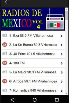 320 Radios of México By Internet - Online Stations screenshot 4