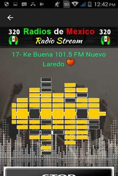 320 Radios of México By Internet - Online Stations screenshot 5