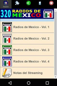 320 Radios of México By Internet - Online Stations poster