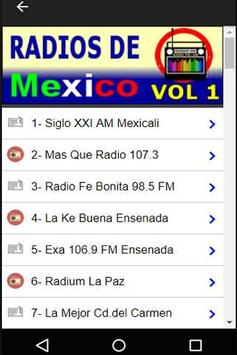 320 Radios of México By Internet - Online Stations screenshot 1
