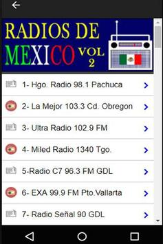 320 Radios of México By Internet - Online Stations screenshot 2