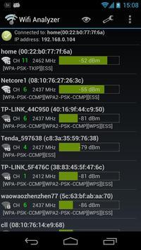 Wifi Analyzer captura de pantalla 3