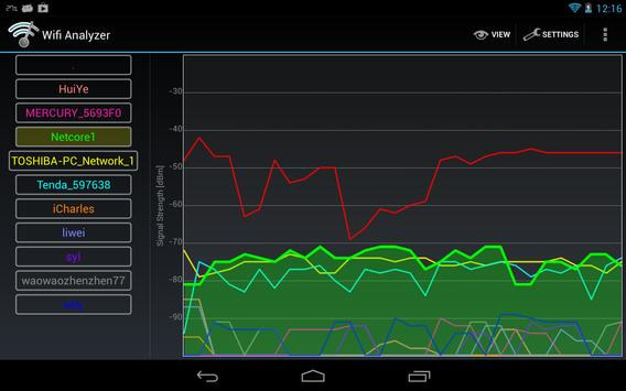 Wifi Analyzer captura de pantalla 11