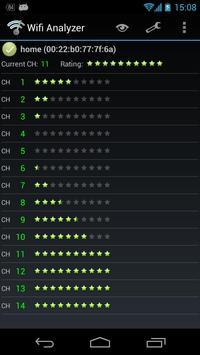 Wifi Analyzer captura de pantalla 4