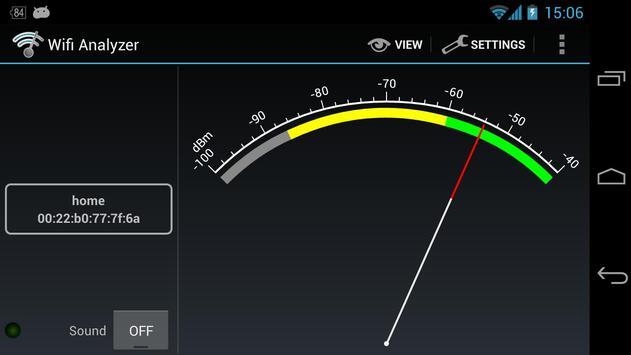 Wifi Analyzer captura de pantalla 6