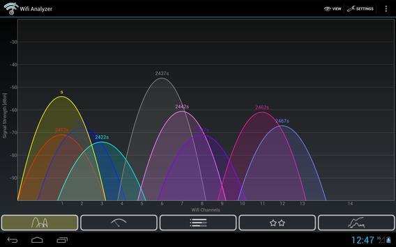 Wifi Analyzer captura de pantalla 8