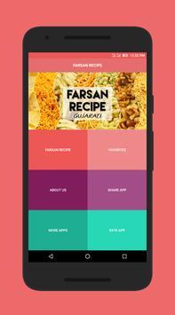 Farsan Recipes in Gujarati poster