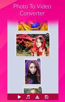 تبدیل عکس و موزیک به فیلم screenshot 2