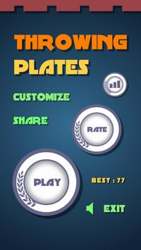 Throwing Plates poster