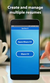 CV Generator apk screenshot