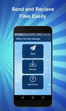 Offline File Sharing Manager screenshot 1
