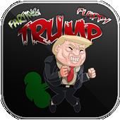 Farting Trump Flappy icon