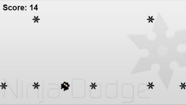 NinjaDodge apk screenshot