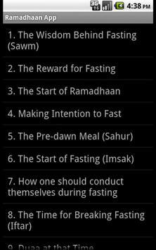 Ramadan App screenshot 1