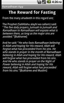 Ramadan App screenshot 2