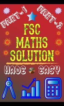 FSc Maths Solution poster