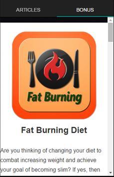 Fat Burning Food screenshot 2
