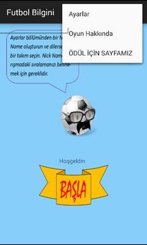Futbol Bilgini screenshot 4