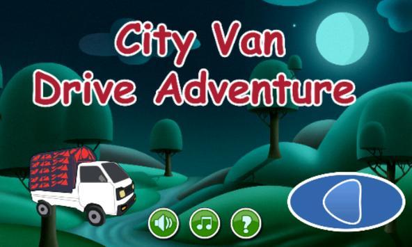 City Van Drive Adventure poster
