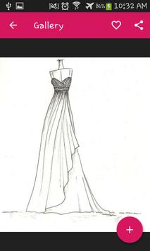 Drawing fashion dress screenshot 1