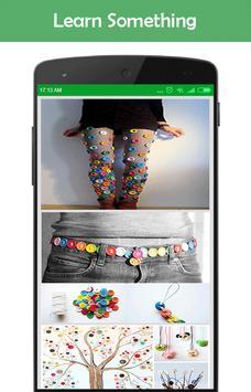 DIY Button Crafts Ideas screenshot 3