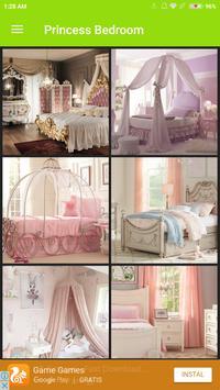 princess bedroom poster