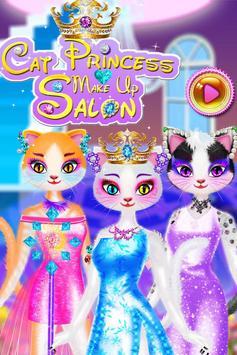 Cat Queen Makeup Salon poster
