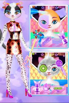 Cat Queen Makeup Salon apk screenshot