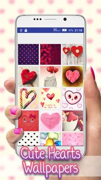 Cute Heart Wallpapers poster