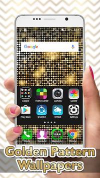 Golden Pattern Wallpapers apk screenshot
