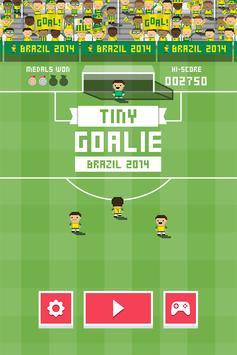 Tiny Goalie: World Soccer poster