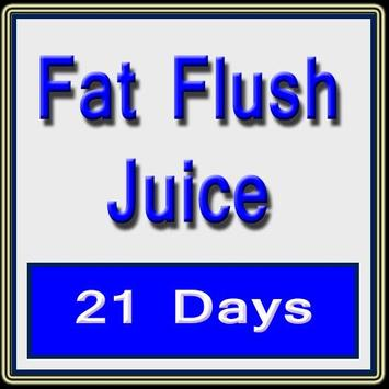 Fat flush Juice poster
