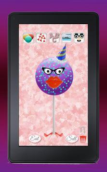 Cake Pop Maker Cooking Game apk screenshot