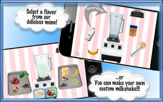 Milkshake Games Smoothie Maker apk screenshot