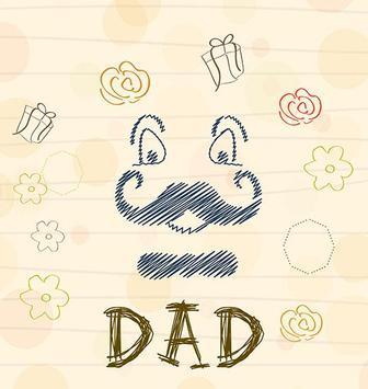 Father's Day Theme Card screenshot 1