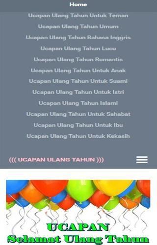 Ucapan Ulang Tahun For Android Apk Download
