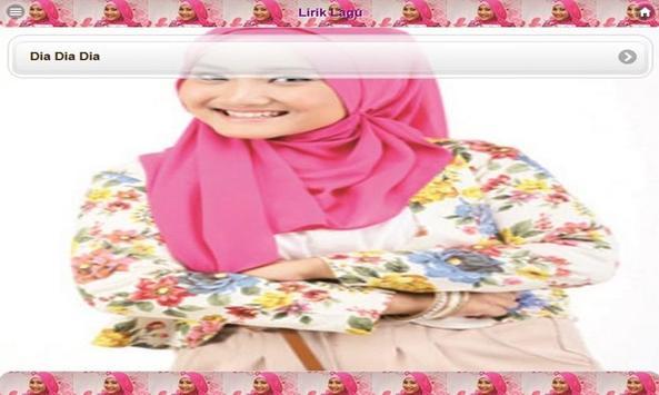 Lirik Lagu Fatin apk screenshot