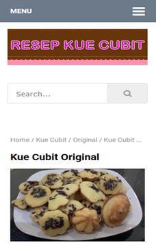 Resep Kue Cubit apk screenshot