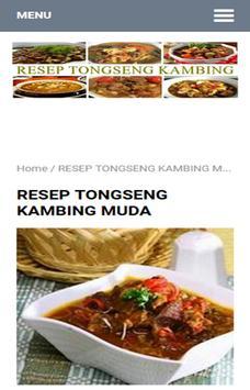 Resep Tongseng Kambing apk screenshot