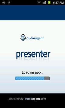 AudioAgent Presenter poster