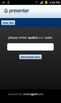 AudioAgent Presenter apk screenshot