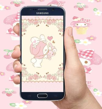 My Melody Wallpapers Sanrio Cute HD poster