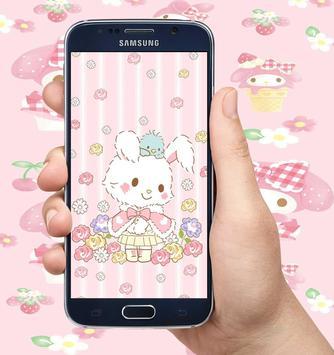 My Melody Wallpapers Sanrio Cute HD apk screenshot