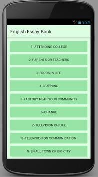 english essay book apk education app for android   english essay book apk screenshot