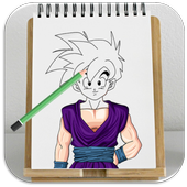 How to Draw All Dragon Ball Z Characters icon