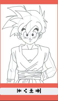 How to Draw All Dragon Ball Z Characters screenshot 7