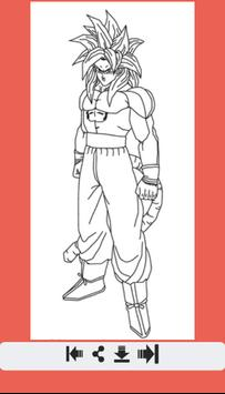 How to Draw All Dragon Ball Z Characters screenshot 9