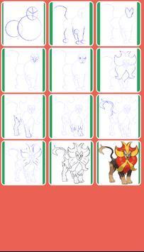 Learn How to Draw All Pokemon Evolution screenshot 4